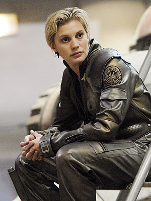 Battlestar Galactica, Katee Sackhoff | What about KATEE SACKHOFF, from Battlestar Galactica ? I think she has done an amazing job at portraying cocky pilot Starbuck on the series. She…