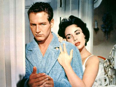 Paul Newman, Elizabeth Taylor, ...