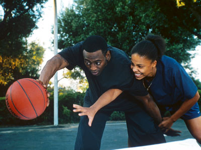 Love & Basketball, Omar Epps, ... | LOVE & BASKETBALL (2000) The basketball scenes are good and all, but it's the long-and-winding love story between Quincy (Omar Epps) and Monica (Sanaa Lathan)…