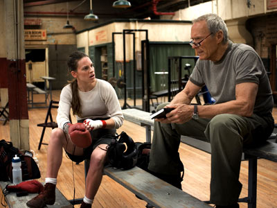 Million Dollar Baby, Clint Eastwood, ... | MILLION DOLLAR BABY (2004) She was born at two pounds, one-and-a-half ounces. But, with a little help from a down-and-out coach (Clint Eastwood), Maggie Fitzgerald…