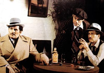 Paul Newman, Robert Shaw, ...