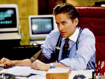 Michael Douglas, Wall Street
