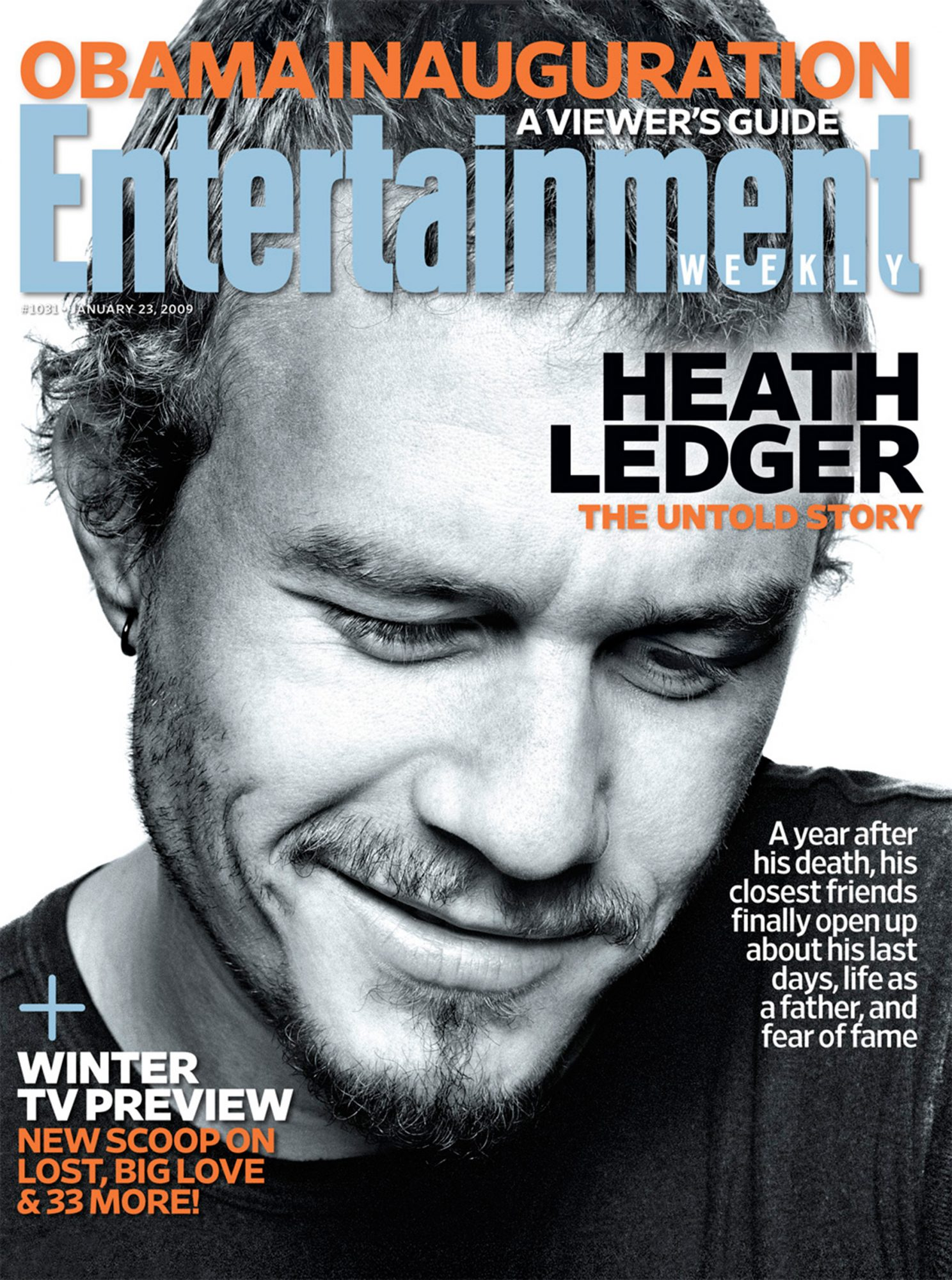 EW CoverIssue 1031January 23, 2009Heath Ledger