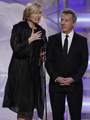 Golden Globes, Dustin Hoffman, ...