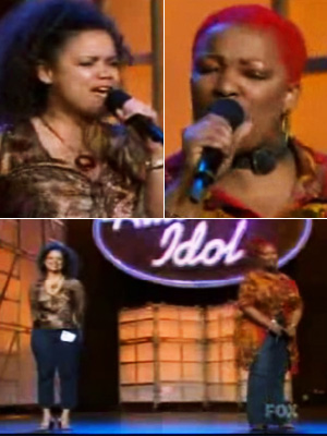 American Idol, Frenchie Davis, ... | Frenchie and Kimberley's ''Gold''-medal duet (Season 2) Anyone who wondered why Frenchie Davis and eventual third-place finisher Kimberley Locke performed as a duo — instead…