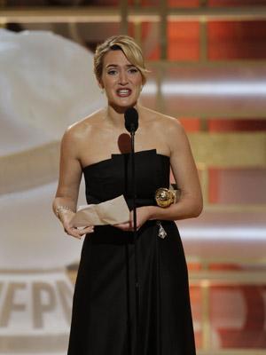 Golden Globes, Kate Winslet