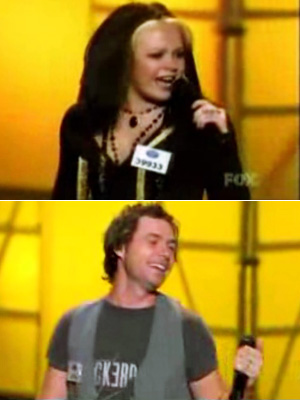 American Idol, Amanda Overmyer, ... | Double Doors from Amanda and Michael (Season 7) You don't tune into Idol expecting to hear the Doors, but when Amanda Overmyer and Michael Johns…