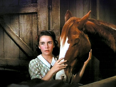 National Velvet, Elizabeth Taylor | The 12-year-old Taylor pulled out all the stops for this classic tale of a girl and her horse — it's a freakily vibrant portrait of…