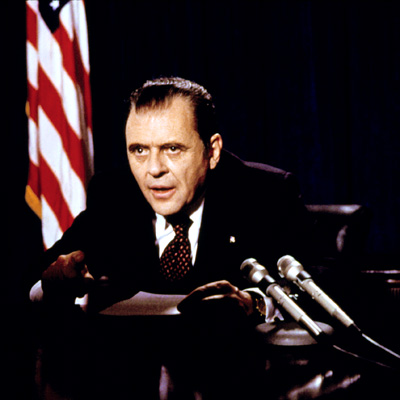 Nixon, Anthony Hopkins | The only U.S. president to ever resign from office was destined to become one of Oliver Stone's cinematic subjects. Anthony Hopkins' Tricky Dick is riddled…