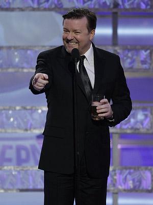Golden Globes, Ricky Gervais