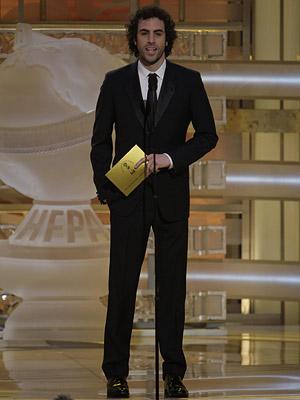 Golden Globes, Sacha Baron Cohen