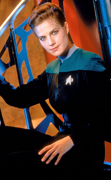 Terry Farrell, Star Trek: Deep Space Nine | Played by: Terry Farrell Show: Star Trek: Deep Space Nine (1993-1999) This tall drink of synthehol is a symbiote — which, in Star Trek -ese,…
