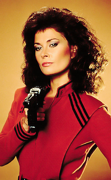 V | Played by: Jane Badler Film: V (1984) You know, if more lizard-y alien conquerors took on hottie disguises like this, they'd have a much better…