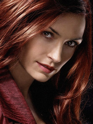 X-Men, Famke Janssen | FAMKE JANSSEN as Jean Grey X-MEN SERIES Ultimate Hottie Moment: Joining Magneto and going evil (for a time) gave her serious bad-girl appeal, and made…