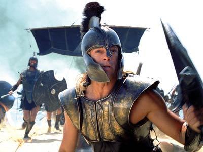 Brad Pitt, Troy | This dumbed-down version of Homer's Iliad was more an homage to Brad Pitt's bronzed pecs as Greek warrior Achilles than to the great Trojan War.…