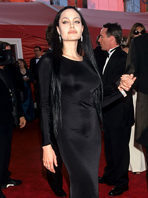 Oscars 2000, Angelina Jolie | Angelina Jolie (2000) She should have been happy with her Best Supporting Actress win (for Girl, Interrupted ) but in what could only be termed…