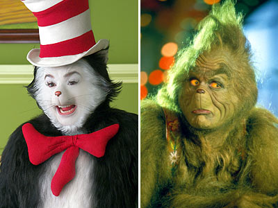 Dr. Seuss' The Cat in the Hat, How the Grinch Stole Christmas! | The Dr. Seuss children books are the kind that every child should have, tucked away on the nightstand. But an obnoxious Mike Myers and over-the-top…
