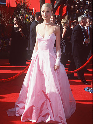 Oscars 1999, Gwyneth Paltrow | Gwyneth Paltrow (1999) It wasn't the best fitted gown in terms of its bodice, but the pale pink Ralph Lauren was a perfect fit for…