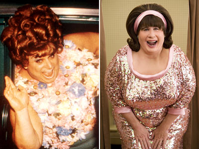 Hairspray (Movie - 1988), Hairspray, ... | Drag superstar Divine made Edna Turnblad legendary with his gruff portrayal of the over-sized housfrau in John Waters' original meditation on the civil rights movement…