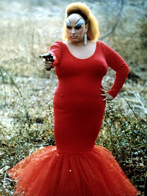 Pink Flamingos, Divine | No one pulled off the man-as-woman thing better than female impersonator Divine, who stars under the pseudonym ''Babs Johnson'' in this John Waters cult flick.…