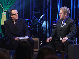 Elton John, Elvis Costello