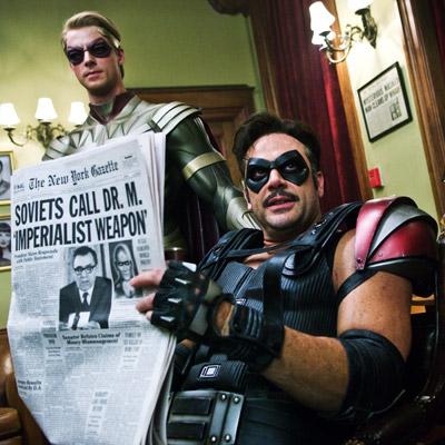 Watchmen, Jeffrey Dean Morgan, ...