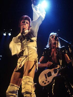 David Bowie, Mick Ronson