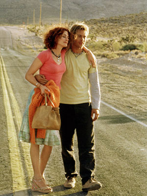 The Mexican, Brad Pitt, ... | BRAD PITT and JULIA ROBERTS, The Mexican (2001) Sometimes when stars collide, sparks don't fly. Lisa Schwarzbaum gave the flick a C+, saying that while…