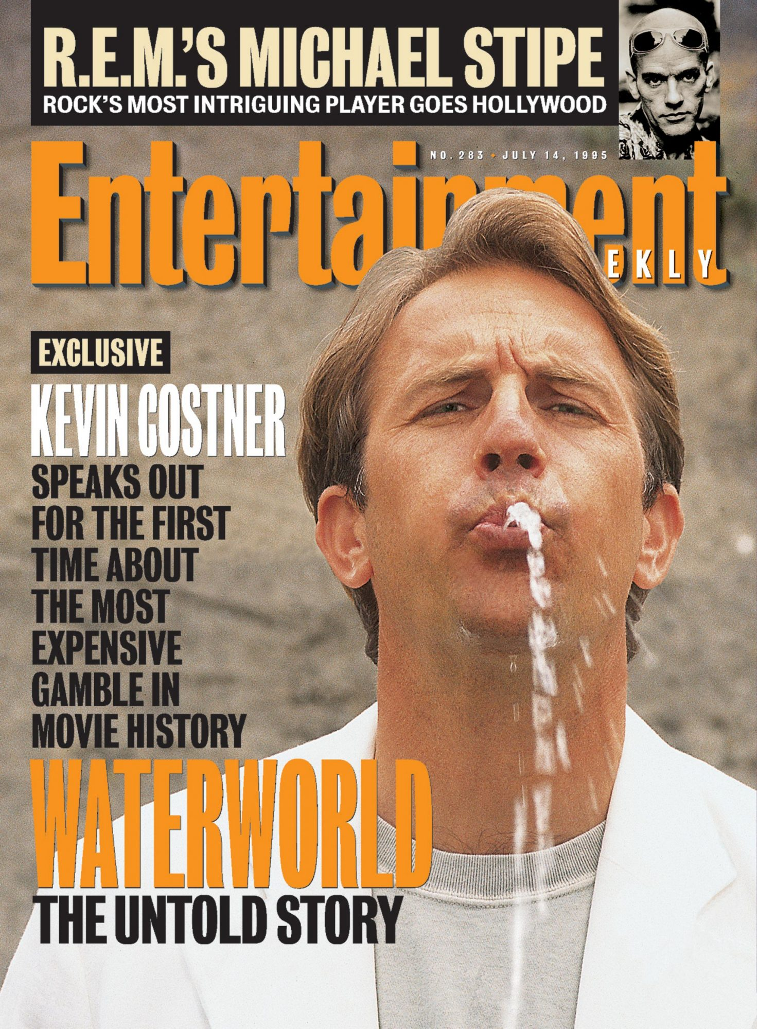 Entertainment WeeklyKevin CostnerJuly 14, 1995# 283