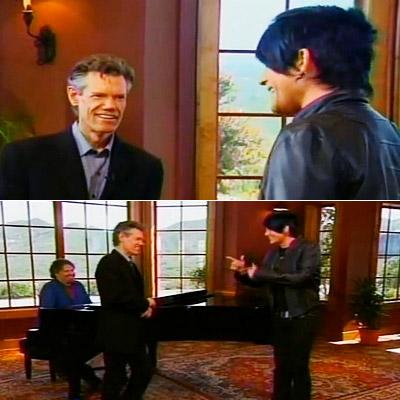 American Idol, Adam Lambert, ... | RANDY TRAVIS LAYS INTO ADAM LAMBERT Season 8 We already knew that Adam Lambert and country music went together about as well as Randy Jackson…
