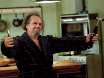 Anger Management, Jack Nicholson