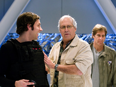 Chuck, Chevy Chase, ...