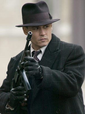 Johnny Depp, Public Enemies