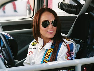 Herbie: Fully Loaded, Lindsay Lohan