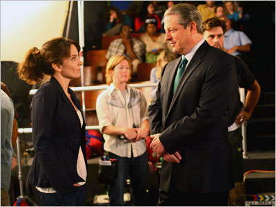 Al Gore, 30 Rock, ... | The former vice president took time out from saving the world to make a blink-and-you-missed-it appearance on the Tina Fey-helmed show. Too bad that whale…