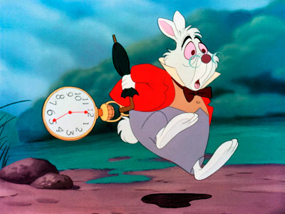 Alice in Wonderland (Movie - 1951) | Before Flavor Flav lifted the idea, it was White Rabbit who wore an oversized clock and led women astray. Whether it's Lewis Carroll or Grace…