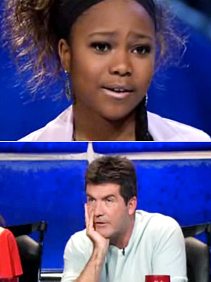 Simon Cowell | ''Let me use a horoscope analogy...a suitcase and plane travel within 24 hours.'' — to Janay Castine, after her season 4 semifinal rendition of ''Dreaming…