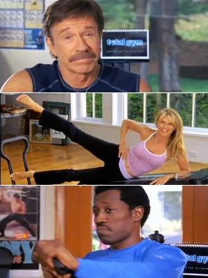 Total Gym, Christie Brinkley, ...