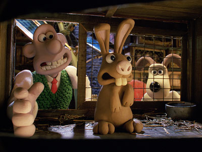 Wallace & Gromit: The Curse of the Were-Rabbit | In Nick Park's delightful Wallace & Gromit in the Curse of the Were-Rabbit inventor Wallace and his dog, Gromit, keep pesky bunnies out of some…