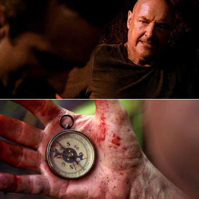 Terry O'Quinn, Lost, ... | THE NUTSHELL: The Left Behinders (including Sawyer, Juliet, Locke, Faraday, Miles, and Charlotte) begin skipping through time; Shirtless Sawyer grieves the presumed death of Kate.…