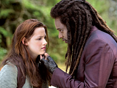 Kristen Stewart, The Twilight Saga: New Moon | ''I'm telling Bella not to be fearful of death. It's inevitable and painless,'' says Edi Gathegi, who returns in New Moon as the somewhat mysterious…