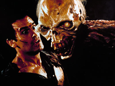 Evil Dead II, Bruce Campbell