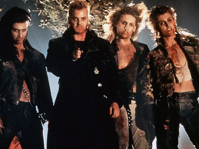 DAVID (Kiefer Sutherland) The Lost Boys (1987) As the leader of a roving pack of motorcycle vampires, the totally rad David would've had his way…