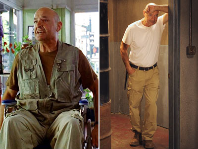 Terry O'Quinn, Lost | WHAT WE KNOW: Locke was paralyzed — and now he can walk. Trumping that, he was dead — and now he's not. Jin was sterile…