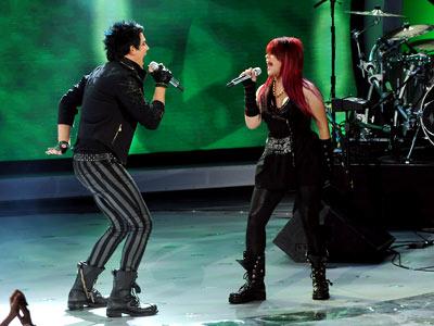 28. Adam Lambert and Allison Iraheta, ''Slow Ride''
