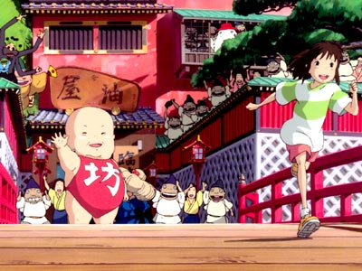 Spirited Away | We talked about Hayao Miyazaki before — you remember, ''Spielberg meets Disney'' — and this is his sublime masterpiece. Miyazaki plumbs psychological depths from his…