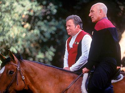 Patrick Stewart, William Shatner, ...