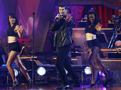 Dancing With the Stars, Robin Thicke