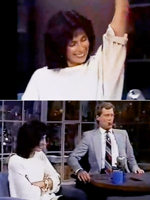 Late Show With David Letterman, Cher, ...