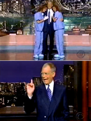 David Letterman | January 2000 After missing his first show (with the exception of vacations), Letterman convalesces for six weeks. America breathes a sigh of relief when Uncle…